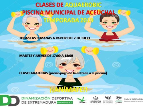 CLASES DE AQUAEROBIC 2019
