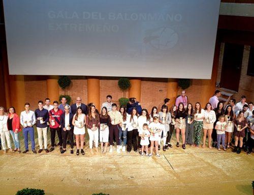 ENTREGA DE PREMIOS BALONMANO EXTREMEÑO TEMPORADA 2018/2019
