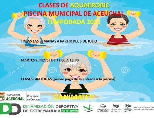 CLASES DE AQUAEROBIC